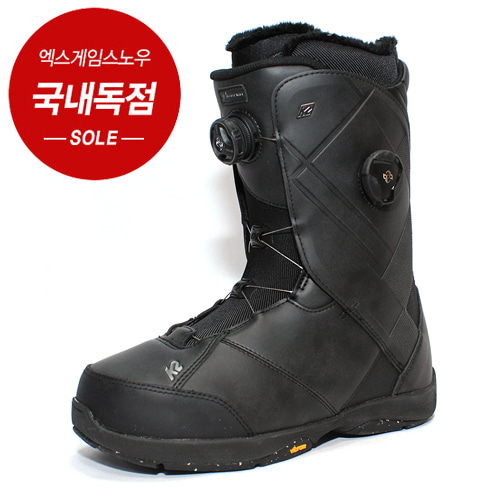 1819 K2 BOOTS MAYSIS WIDE BLACK 케이투 메이시스 와이드 보아 부츠