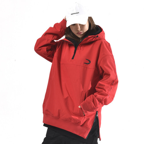 도넥 방수후드 아노락 DONEK ANORAK WATER PROOF HOODY RED