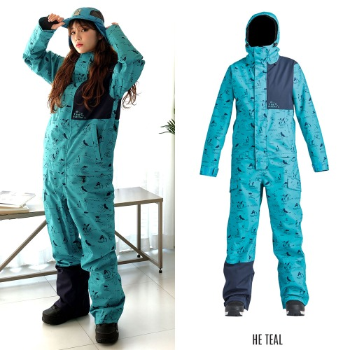 2021 AIRBLASTER WS STRETCH FREEDOM SUIT HE TEAL 에블 여성용 원피스 점프수트 보드복